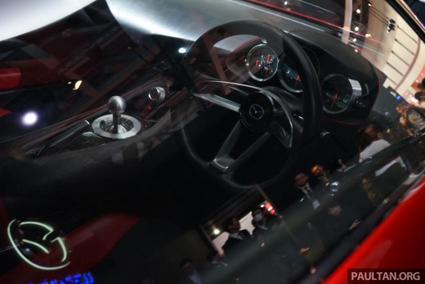 Tokyo 2015: Mazda RX-Vision – new rotary concept! Image #399072