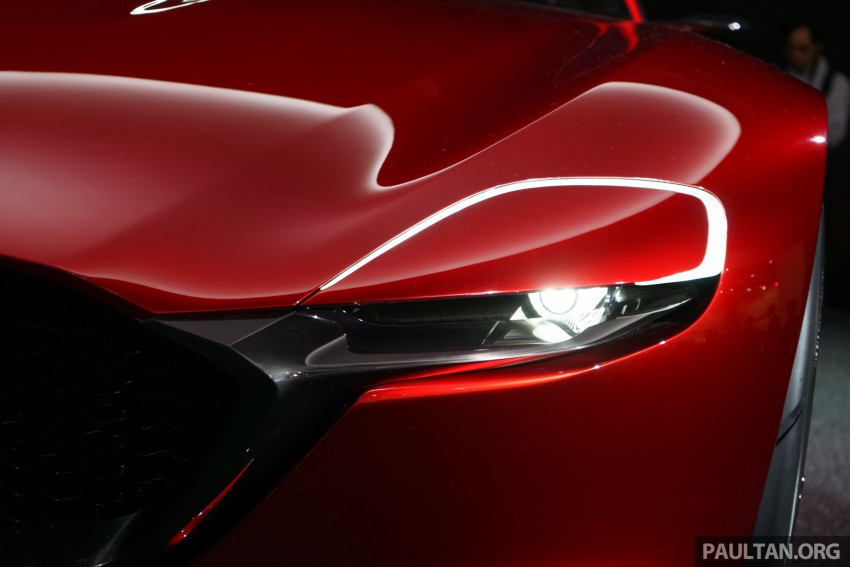 Tokyo 2015: Mazda RX-Vision – new rotary concept! Image #399076