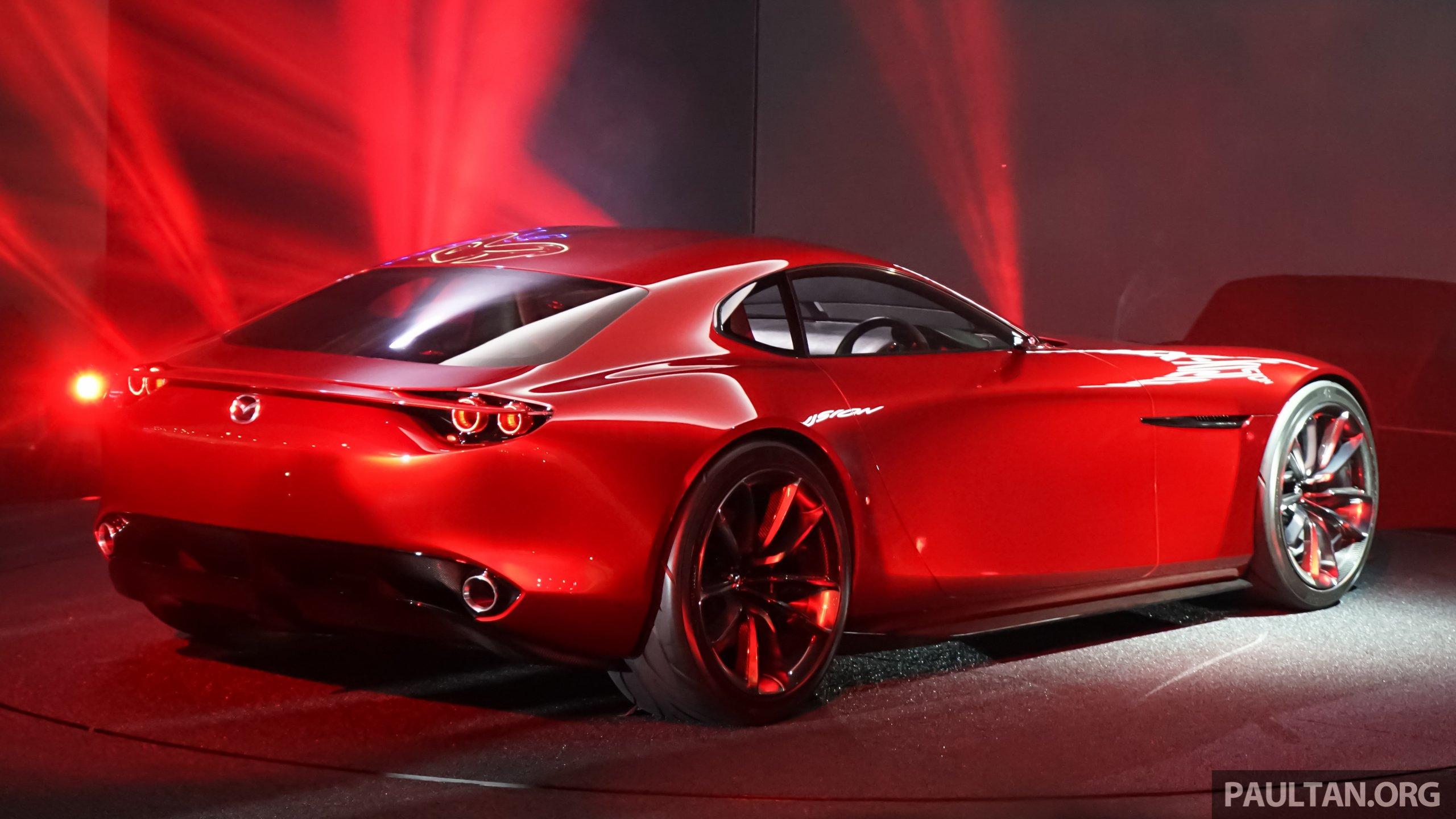 Tokyo 2015 Mazda Rx Vision New Rotary Concept Image 398117
