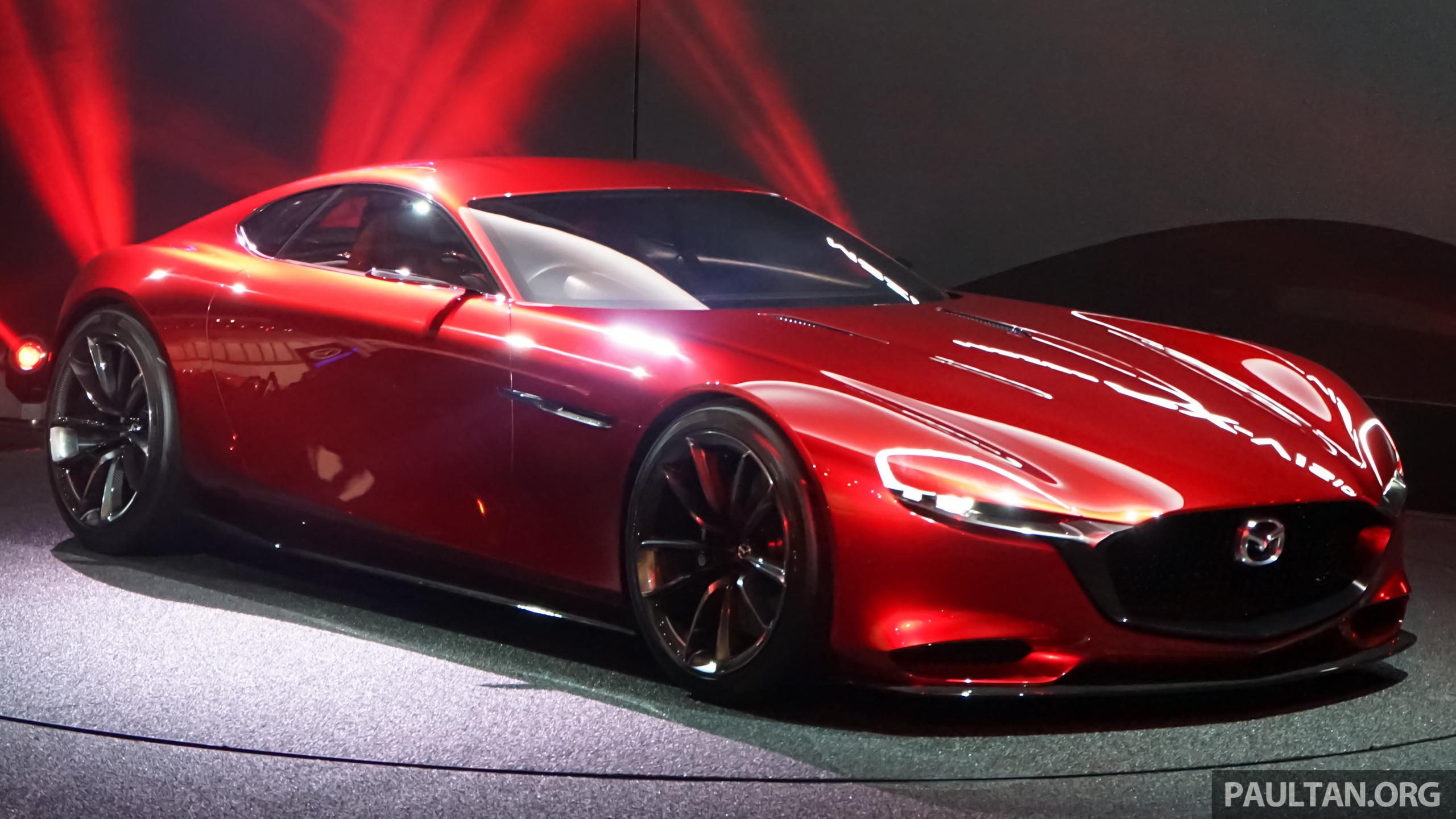 Tokyo 2015: Mazda RX-Vision – new rotary concept! Paul Tan ...