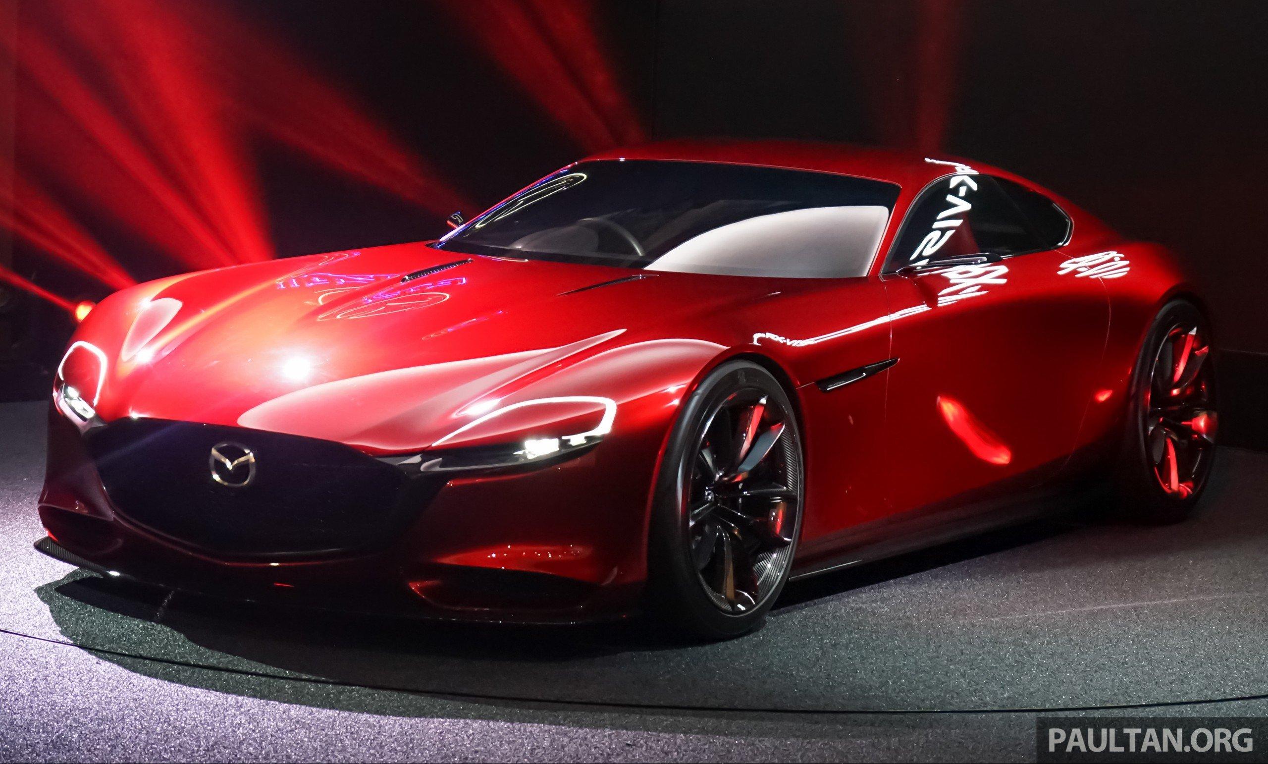 Tokyo 2015 Mazda Rx Vision New Rotary Concept Paul Tan