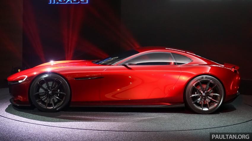 Tokyo 2015: Mazda RX-Vision – new rotary concept! Image #398122