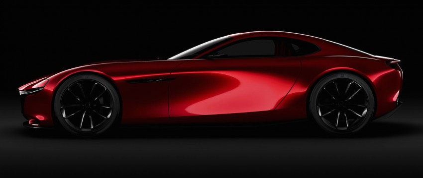 Tokyo 2015: Mazda RX-Vision – new rotary concept! Image #398029