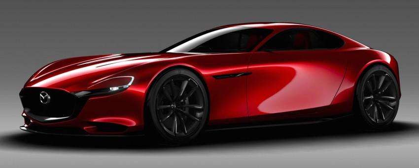 Tokyo 2015: Mazda RX-Vision – new rotary concept! Image #398040