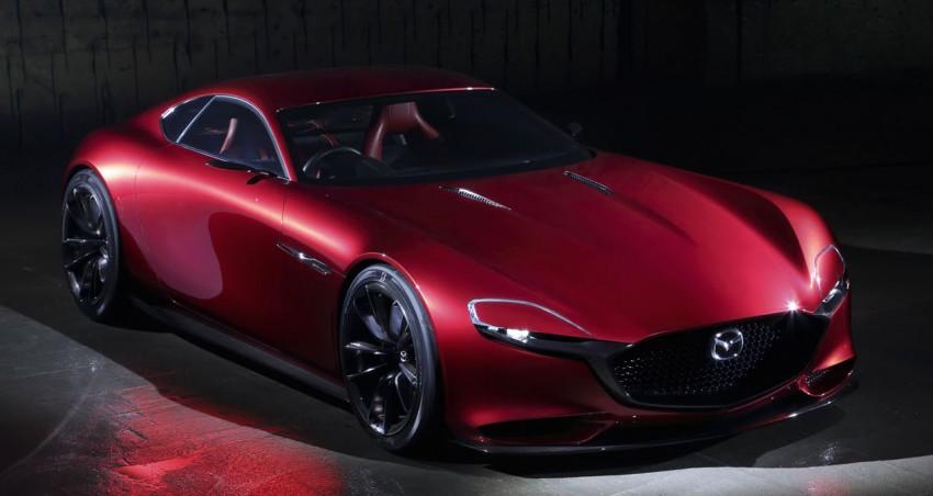 Tokyo 2015: Mazda RX-Vision – new rotary concept! Image #398035