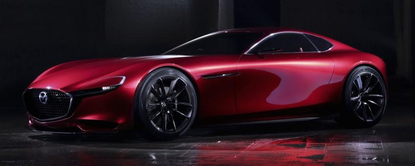 Tokyo 2015: Mazda RX-Vision – new rotary concept! Image #398036