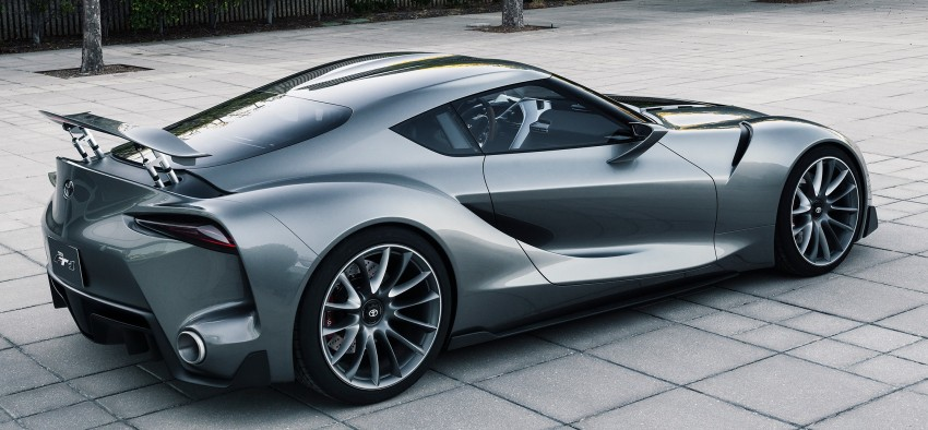Toyota Supra successor concept to debut in 2016 Image #399888