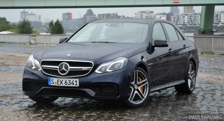 DRIVEN: Mercedes-Benz S 63 AMG Coupe and E 63 AMG S – wet and wild in Köln with a couple of 5.5s Image #396953