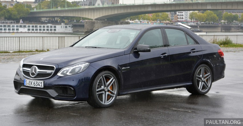 DRIVEN: Mercedes-Benz S 63 AMG Coupe and E 63 AMG S – wet and wild in Köln with a couple of 5.5s Image #396954