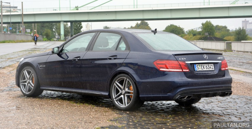 DRIVEN: Mercedes-Benz S 63 AMG Coupe and E 63 AMG S – wet and wild in Köln with a couple of 5.5s Image #396955