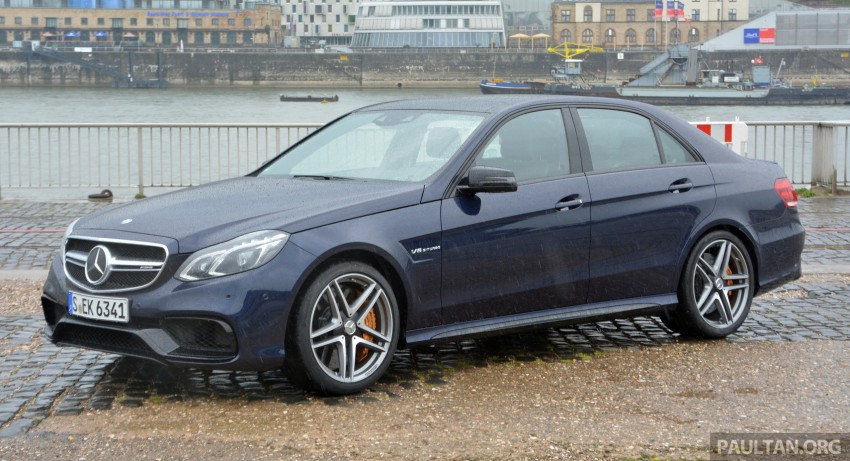 DRIVEN: Mercedes-Benz S 63 AMG Coupe and E 63 AMG S – wet and wild in Köln with a couple of 5.5s Image #396987