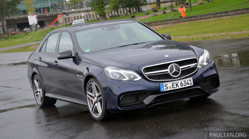 DRIVEN: Mercedes-Benz S 63 AMG Coupe and E 63 AMG S – wet and wild in Köln with a couple of 5.5s Image #396956