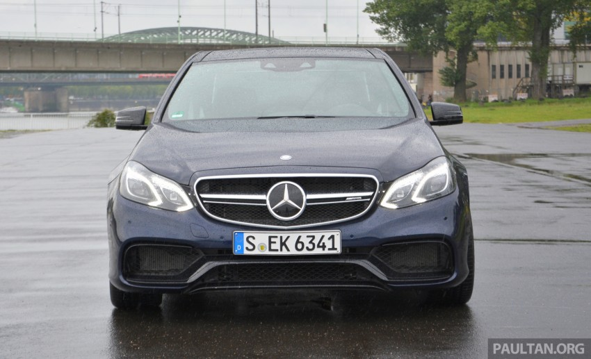 DRIVEN: Mercedes-Benz S 63 AMG Coupe and E 63 AMG S – wet and wild in Köln with a couple of 5.5s Image #396957