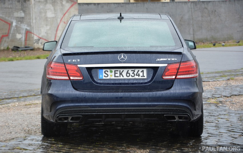 DRIVEN: Mercedes-Benz S 63 AMG Coupe and E 63 AMG S – wet and wild in Köln with a couple of 5.5s Image #396958