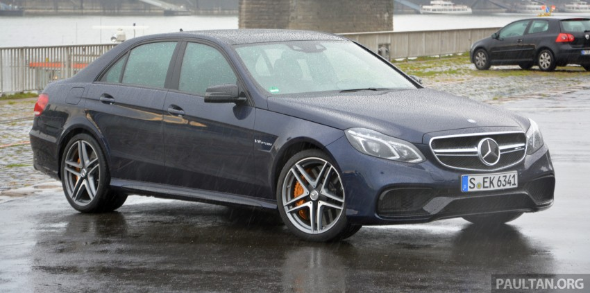 DRIVEN: Mercedes-Benz S 63 AMG Coupe and E 63 AMG S – wet and wild in Köln with a couple of 5.5s Image #396959