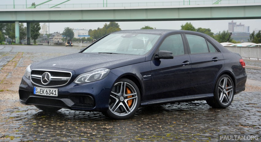 DRIVEN: Mercedes-Benz S 63 AMG Coupe and E 63 AMG S – wet and wild in Köln with a couple of 5.5s Image #396961