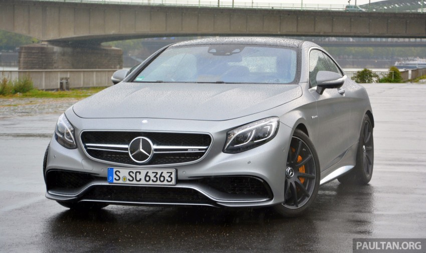 DRIVEN: Mercedes-Benz S 63 AMG Coupe and E 63 AMG S – wet and wild in Köln with a couple of 5.5s Image #396988