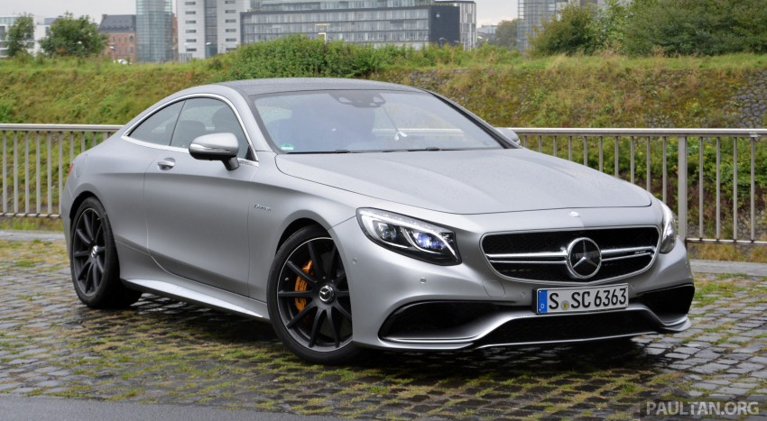 DRIVEN: Mercedes-Benz S 63 AMG Coupe and E 63 AMG S – wet and wild in Köln with a couple of 5.5s Image #396997