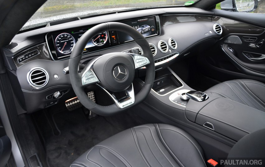 DRIVEN: Mercedes-Benz S 63 AMG Coupe and E 63 AMG S – wet and wild in Köln with a couple of 5.5s Image #397006