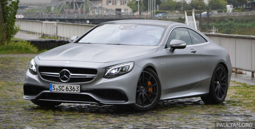 DRIVEN: Mercedes-Benz S 63 AMG Coupe and E 63 AMG S – wet and wild in Köln with a couple of 5.5s Image #396990