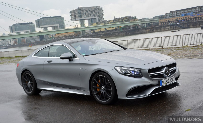 DRIVEN: Mercedes-Benz S 63 AMG Coupe and E 63 AMG S – wet and wild in Köln with a couple of 5.5s Image #397026
