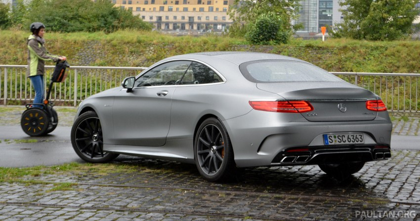 DRIVEN: Mercedes-Benz S 63 AMG Coupe and E 63 AMG S – wet and wild in Köln with a couple of 5.5s Image #396991