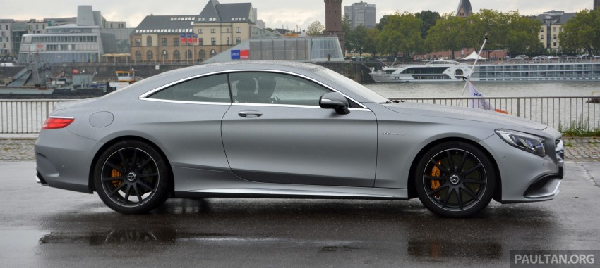 DRIVEN: Mercedes-Benz S 63 AMG Coupe and E 63 AMG S – wet and wild in Köln with a couple of 5.5s Image #396992