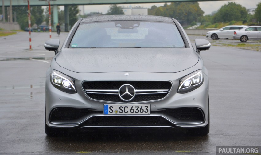 DRIVEN: Mercedes-Benz S 63 AMG Coupe and E 63 AMG S – wet and wild in Köln with a couple of 5.5s Image #396993