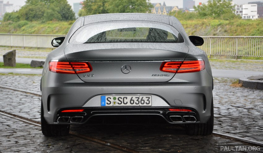 DRIVEN: Mercedes-Benz S 63 AMG Coupe and E 63 AMG S – wet and wild in Köln with a couple of 5.5s Image #396994