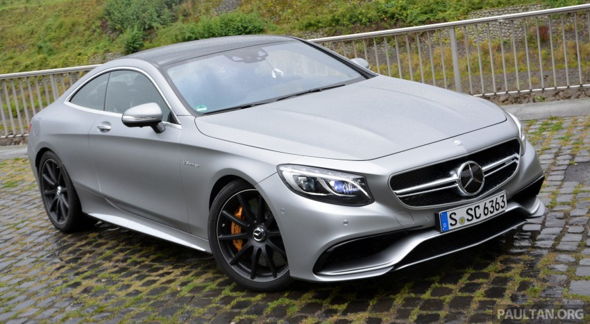 DRIVEN: Mercedes-Benz S 63 AMG Coupe and E 63 AMG S – wet and wild in Köln with a couple of 5.5s Image #396995