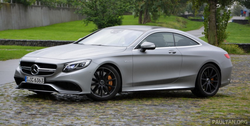 DRIVEN: Mercedes-Benz S 63 AMG Coupe and E 63 AMG S – wet and wild in Köln with a couple of 5.5s Image #396996