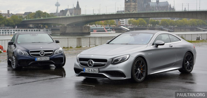 DRIVEN: Mercedes-Benz S 63 AMG Coupe and E 63 AMG S – wet and wild in Köln with a couple of 5.5s Image #397028