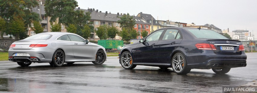 DRIVEN: Mercedes-Benz S 63 AMG Coupe and E 63 AMG S – wet and wild in Köln with a couple of 5.5s Image #397029