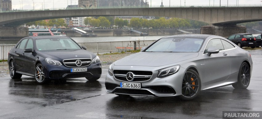 DRIVEN: Mercedes-Benz S 63 AMG Coupe and E 63 AMG S – wet and wild in Köln with a couple of 5.5s Image #397030