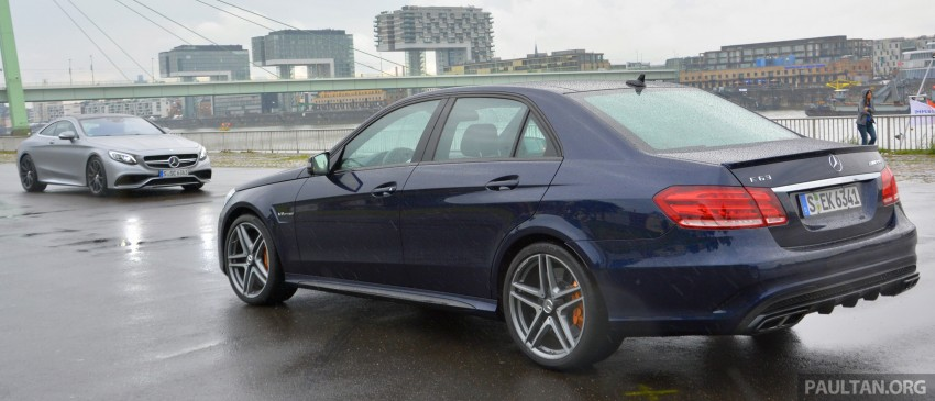 DRIVEN: Mercedes-Benz S 63 AMG Coupe and E 63 AMG S – wet and wild in Köln with a couple of 5.5s Image #397031