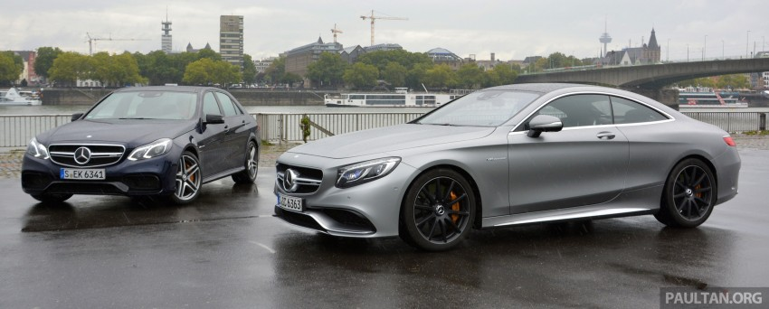 DRIVEN: Mercedes-Benz S 63 AMG Coupe and E 63 AMG S – wet and wild in Köln with a couple of 5.5s Image #397032