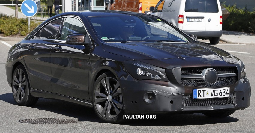 SPIED: New Mercedes-Benz CLA, CLA Shooting Brake Image #387515