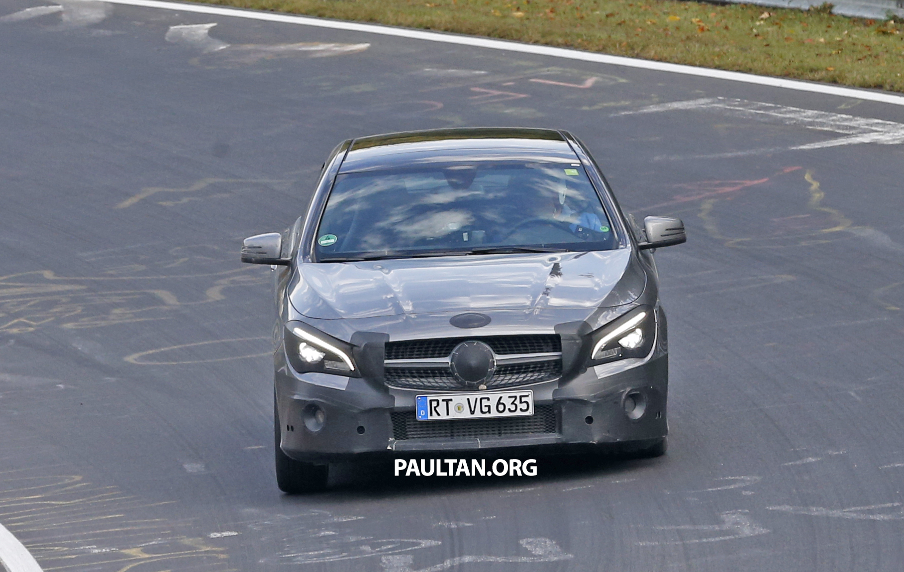 Spied new mercedes benz cla cla shooting brake image 393354 for New mercedes benz cla