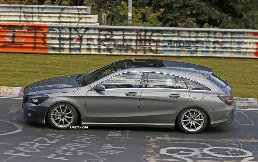 SPIED: New Mercedes-Benz CLA, CLA Shooting Brake Image #393350