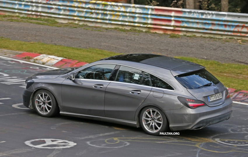 SPIED: New Mercedes-Benz CLA, CLA Shooting Brake Image #393349