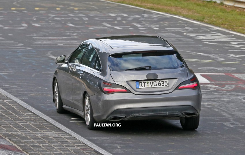 SPIED: New Mercedes-Benz CLA, CLA Shooting Brake Image #393346