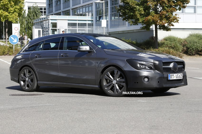 SPIED: New Mercedes-Benz CLA, CLA Shooting Brake Image #387520
