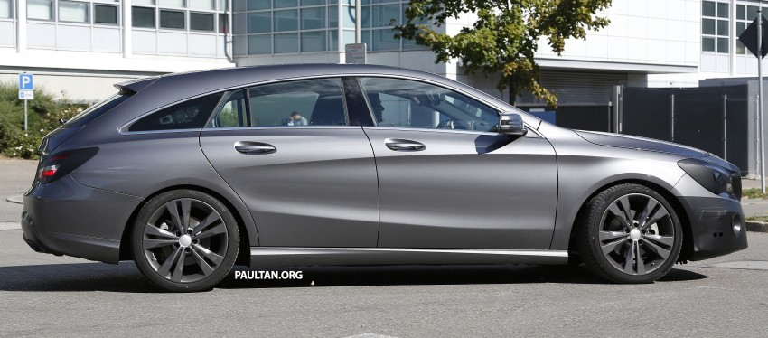 SPIED: New Mercedes-Benz CLA, CLA Shooting Brake Image #387519