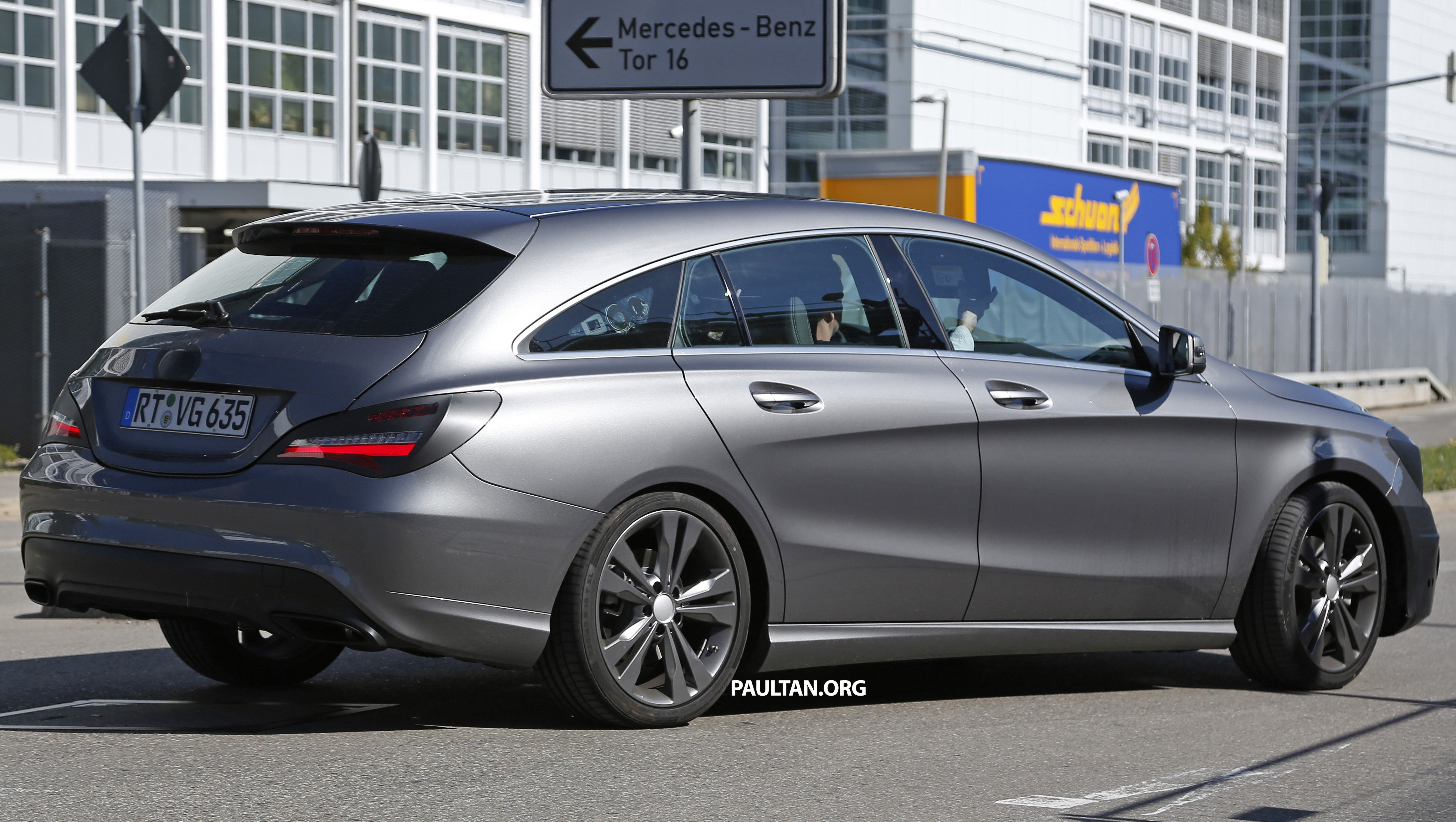 SPIED: New Mercedes-Benz CLA, CLA Shooting Brake Paul Tan - Image 387518