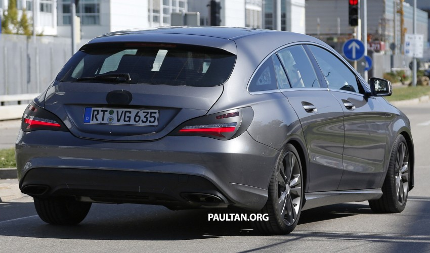 SPIED: New Mercedes-Benz CLA, CLA Shooting Brake Image #387517