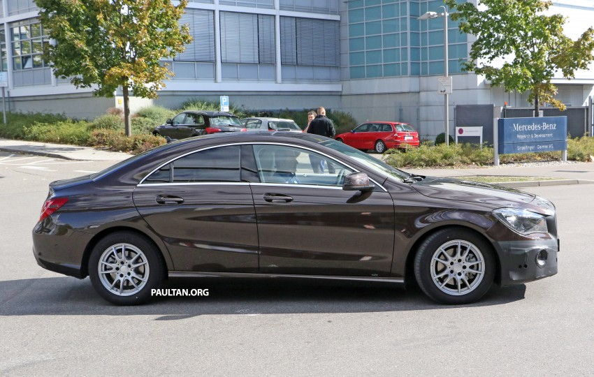 SPIED: New Mercedes-Benz CLA, CLA Shooting Brake Image #388569