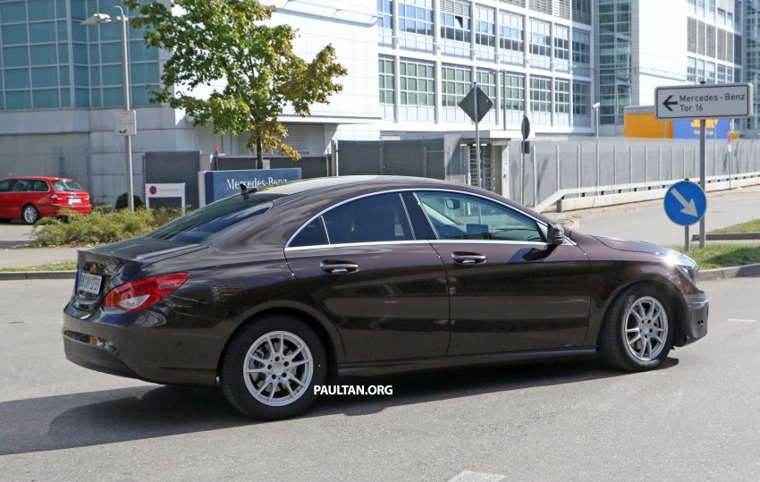 SPIED: New Mercedes-Benz CLA, CLA Shooting Brake Image #388567