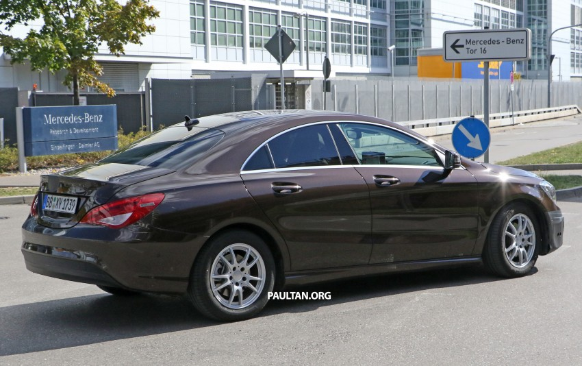 SPIED: New Mercedes-Benz CLA, CLA Shooting Brake Image #388566