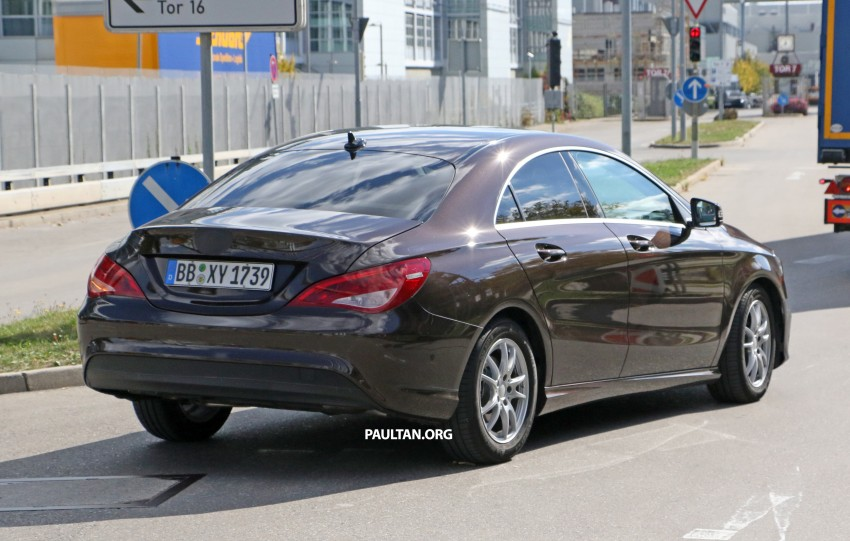 SPIED: New Mercedes-Benz CLA, CLA Shooting Brake Image #388565