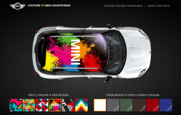 Mini Countryman Gets Customisable Decals In M Sia
